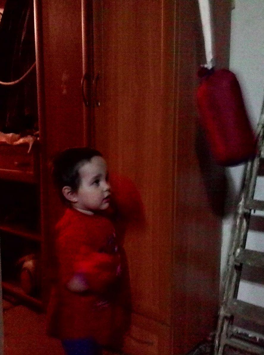 каллиста занимается боксом