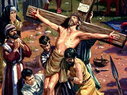 Я не просил Иисуса за меня страдать