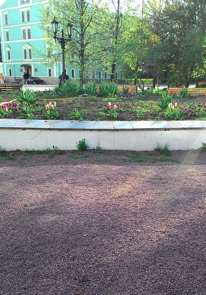 парк в Даниловом монастыре