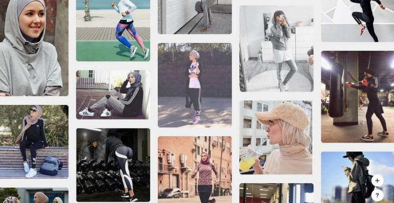 спортивный хиджаб