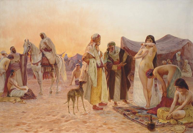 1925 Невольничий рынок (Slave market) 110.5 x 160 х.,м.Частное собрание