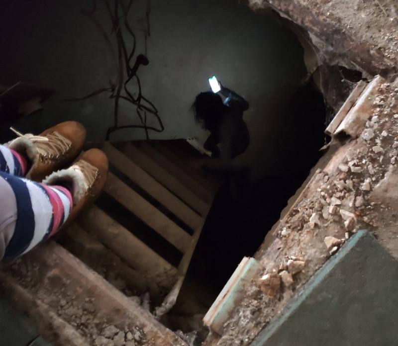 Фото реального подвала в старом здании Москвы