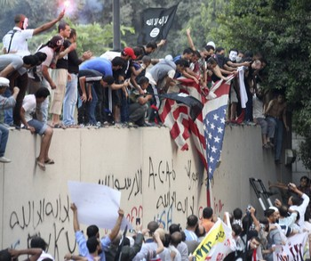 штурм посольства в Ливии