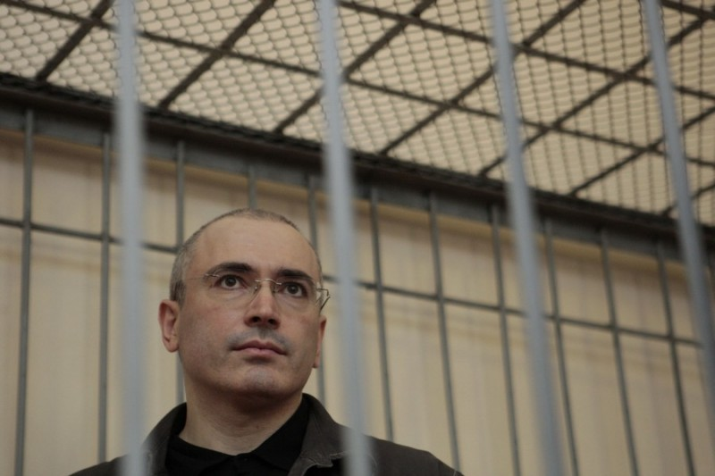 Фото: Ходорковский под арестом