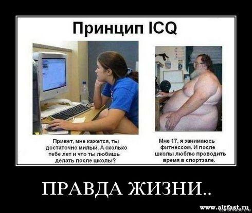 демотиватор про интернет обманы