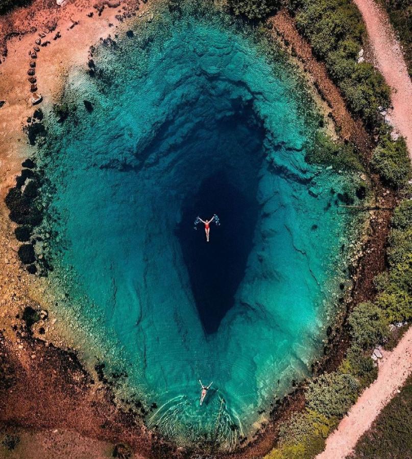 Фото: Пещера в Хорватии