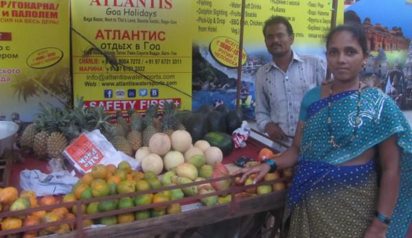 Продавцы фруктов в Баге