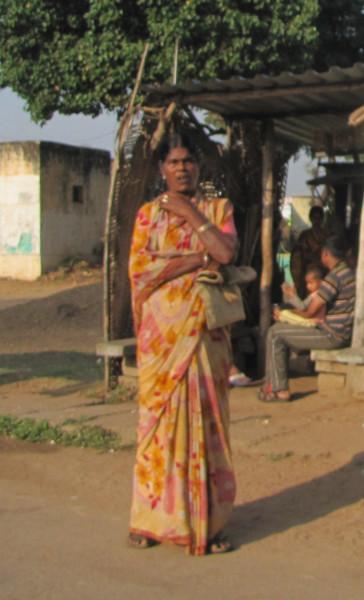 Женщина в Карнатаке