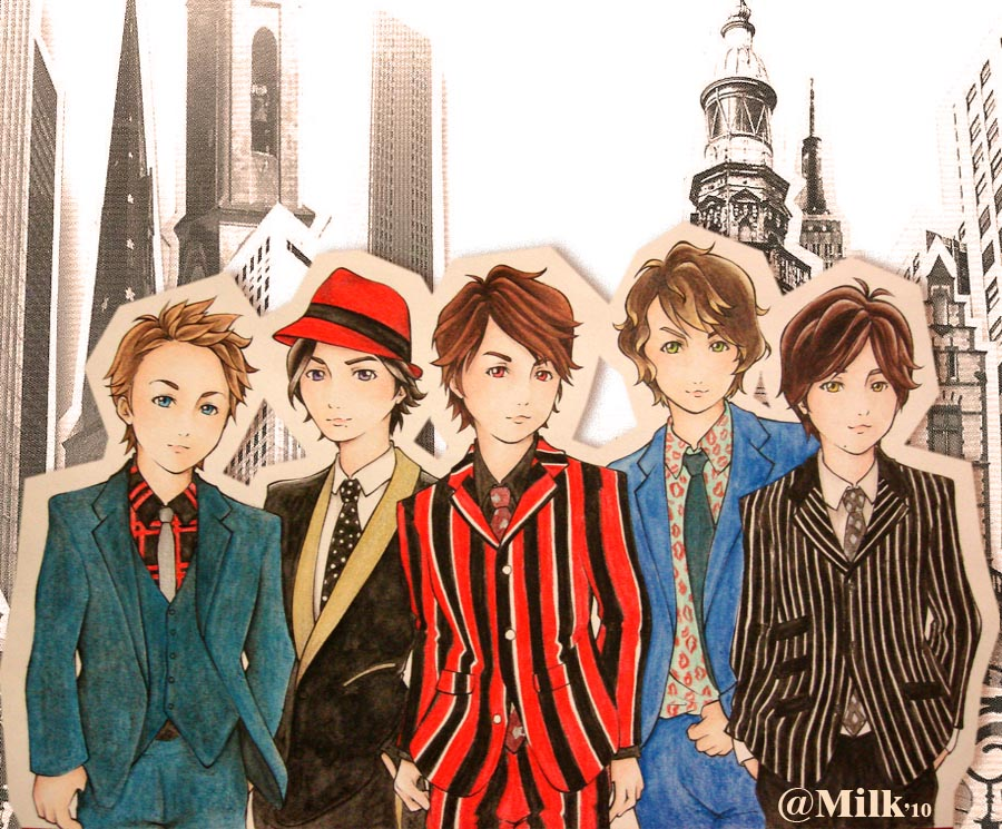 Arashi animated