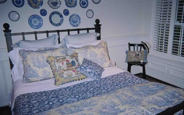 My bedroom bed