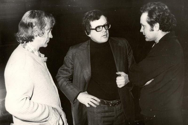 Слева направо: Евгений Лысик, Андрей Петров, Валентин Елизарьев