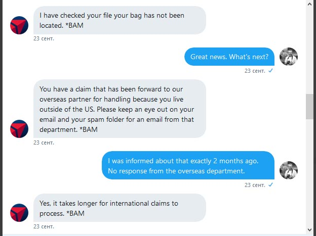 Как я 4 месяца выбивал у Delta Airlines компенсацию за утерянный в США багаж