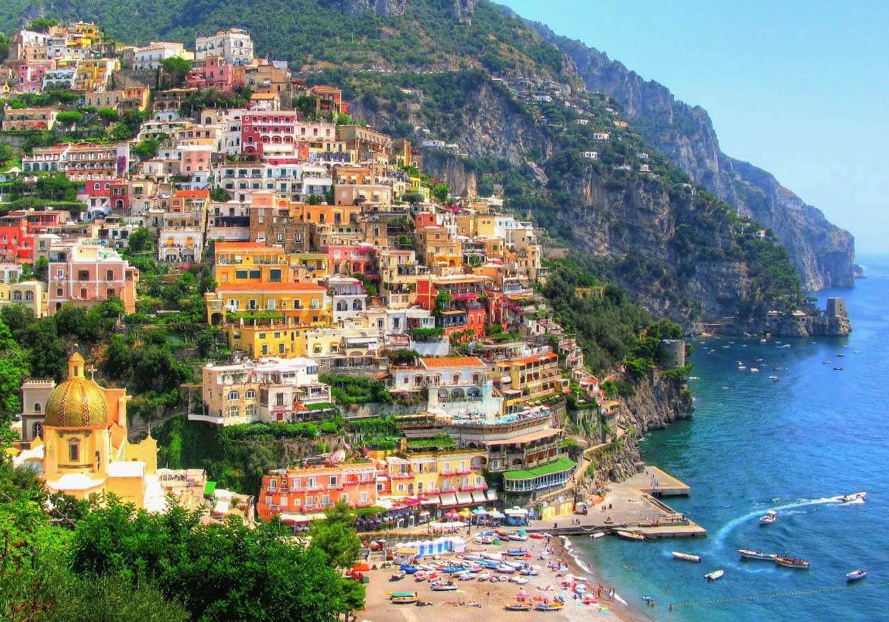 Итальянская морская мечта: Неаполь, Позитано, Амальфи, Солерно