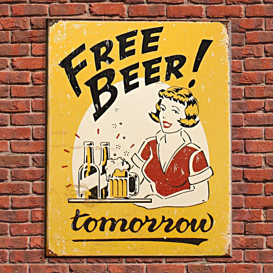 Free Beer. Tomorrow!