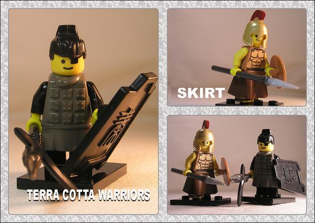 Lego terracota soldiers