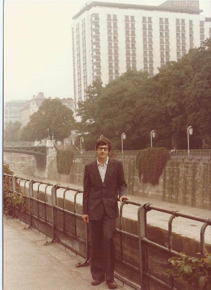 Viena September 1980 Alex Hotel Hilton