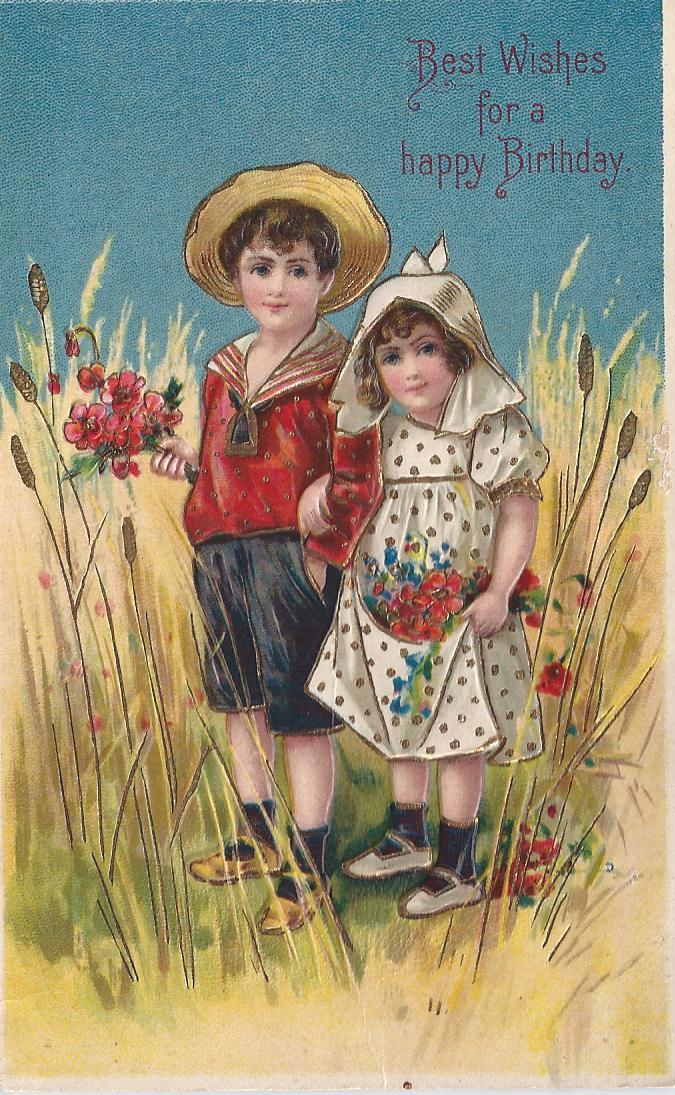 Happy Birthday old card