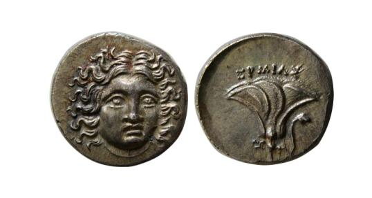 Karijskie oCTPOBA 175-170 BC tetroobol