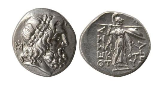 Fesalia Fessalian League 196-146 BC Stater