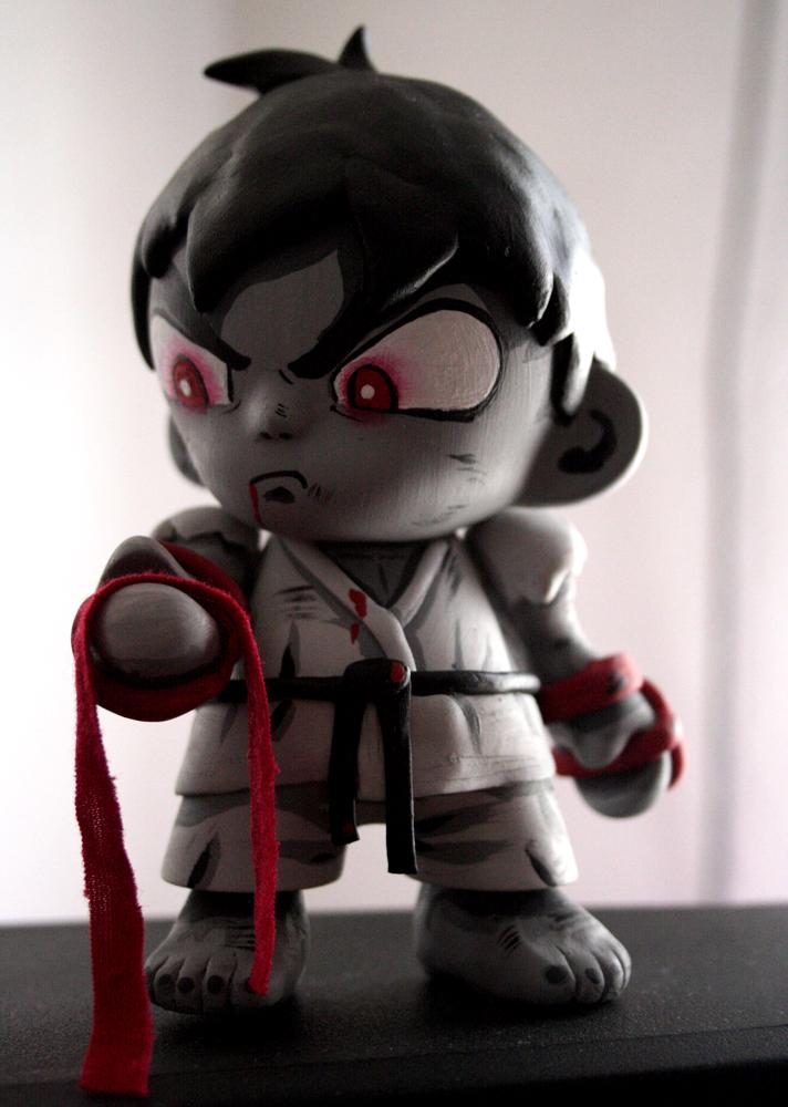 Ryu-Mini-Munny-Customs