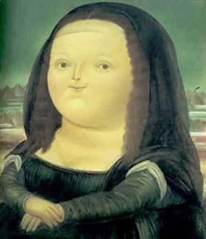 Botero.Mona Lisa