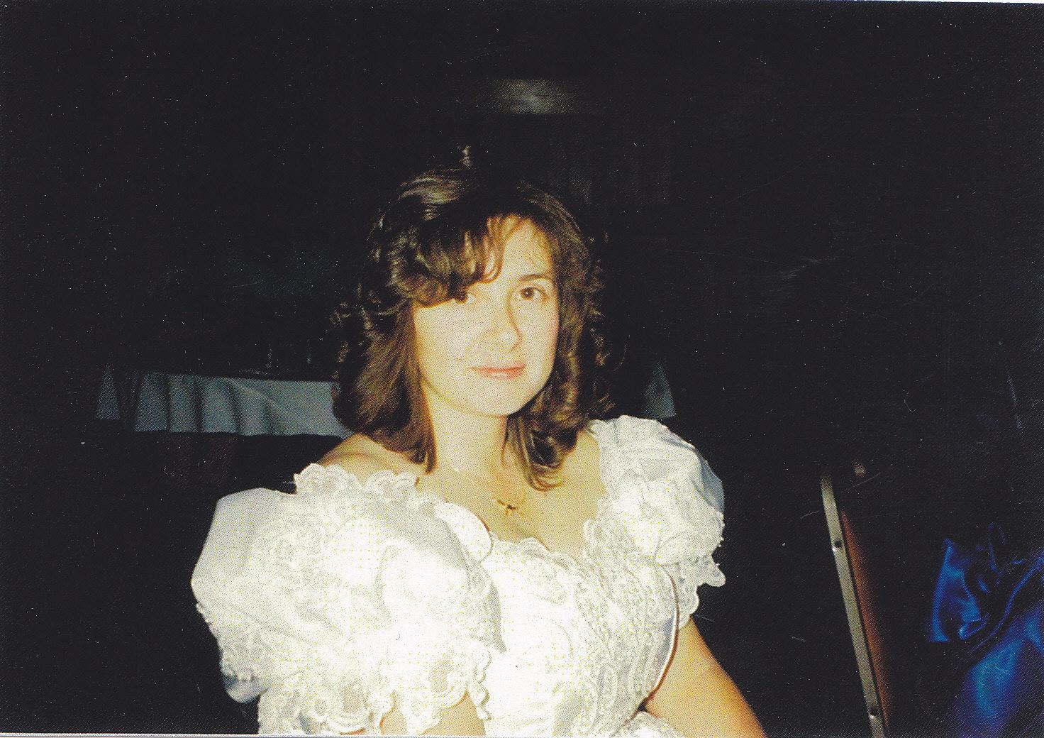 Karen.Our wedding day