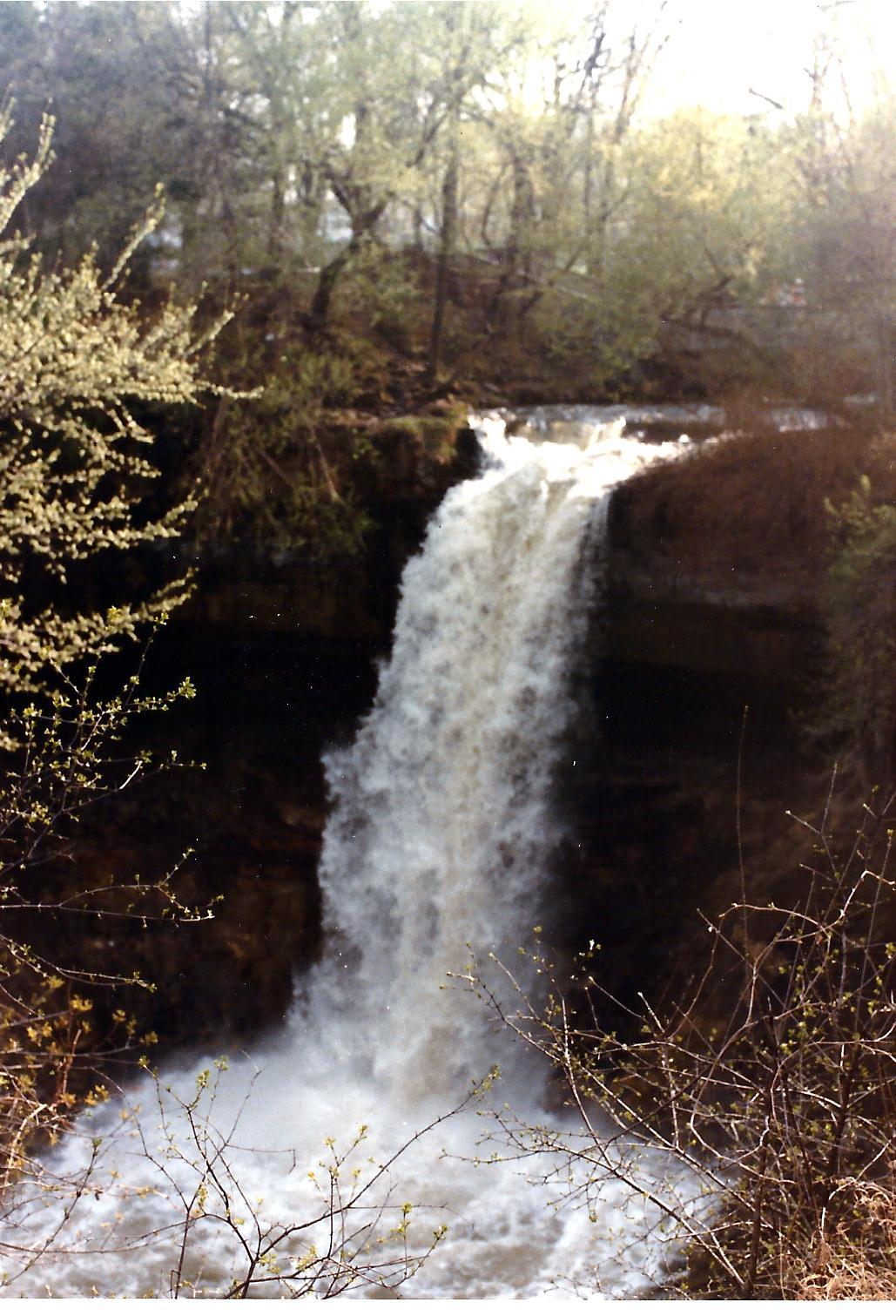 Minnehaha falls MN 1983