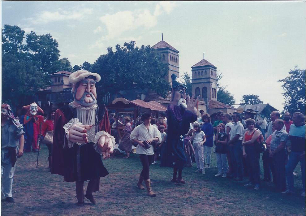 BIG MAN Renaiisance Festvial Minnesota 1983