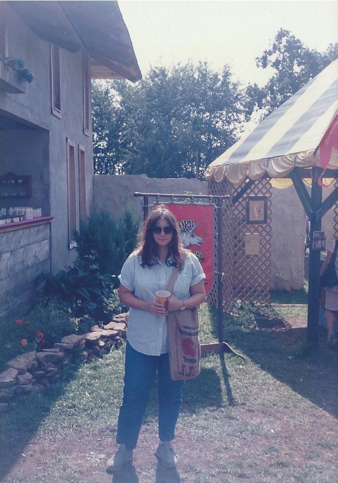 Karen. Renaissance Festival MInnesota 1983