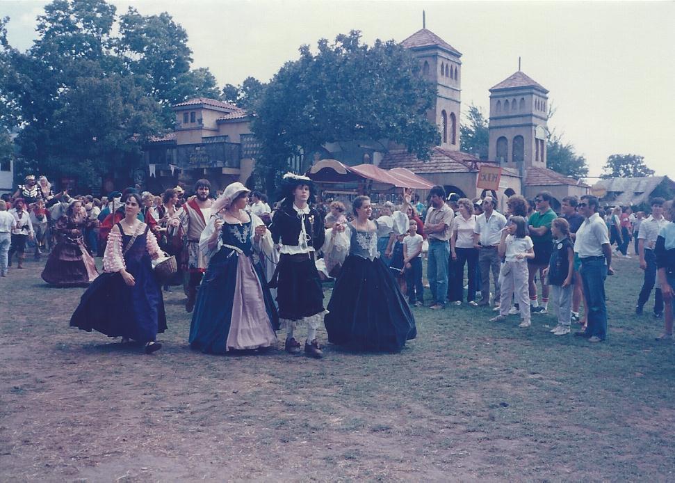 Medieval ladies Renaisance Festival MInnesota 1983