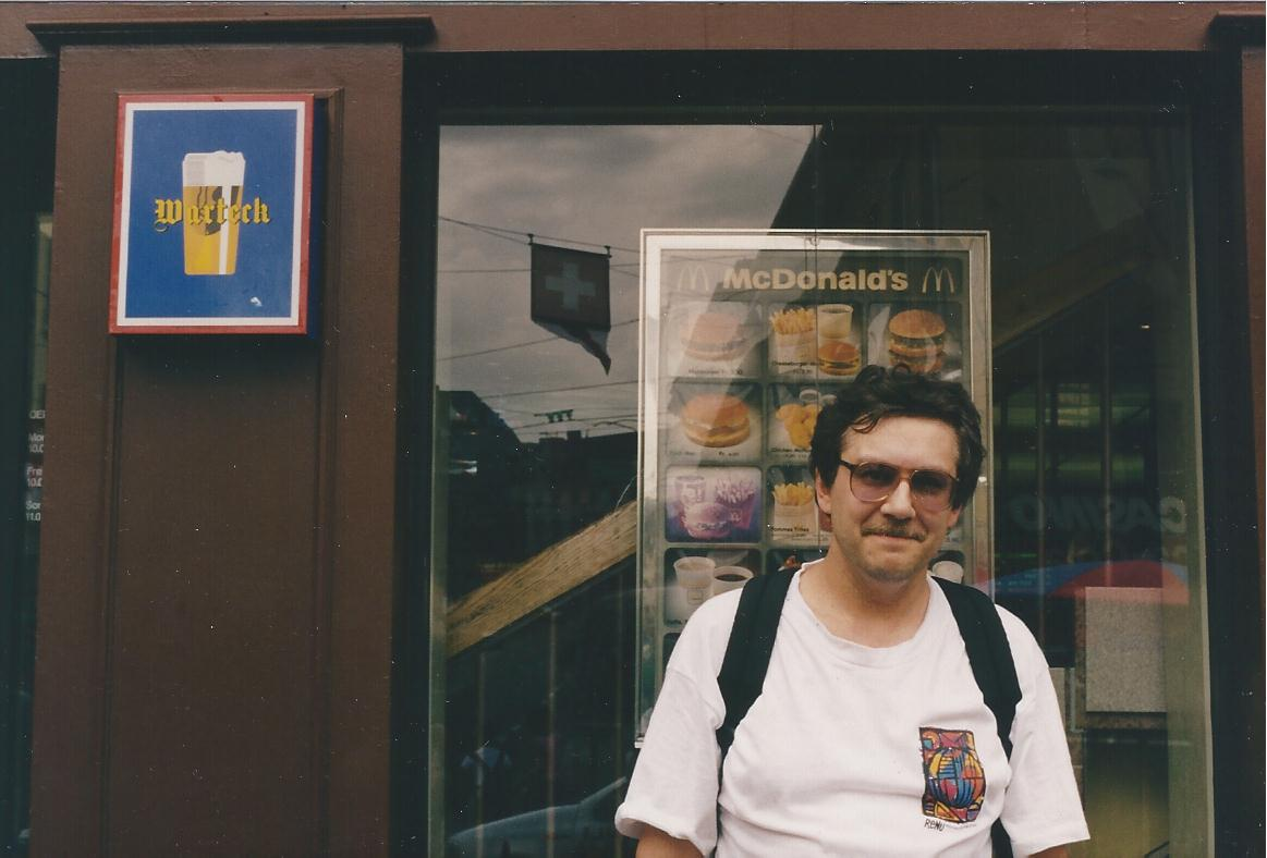 Alex Beer photo at McDonald's Bern 1998