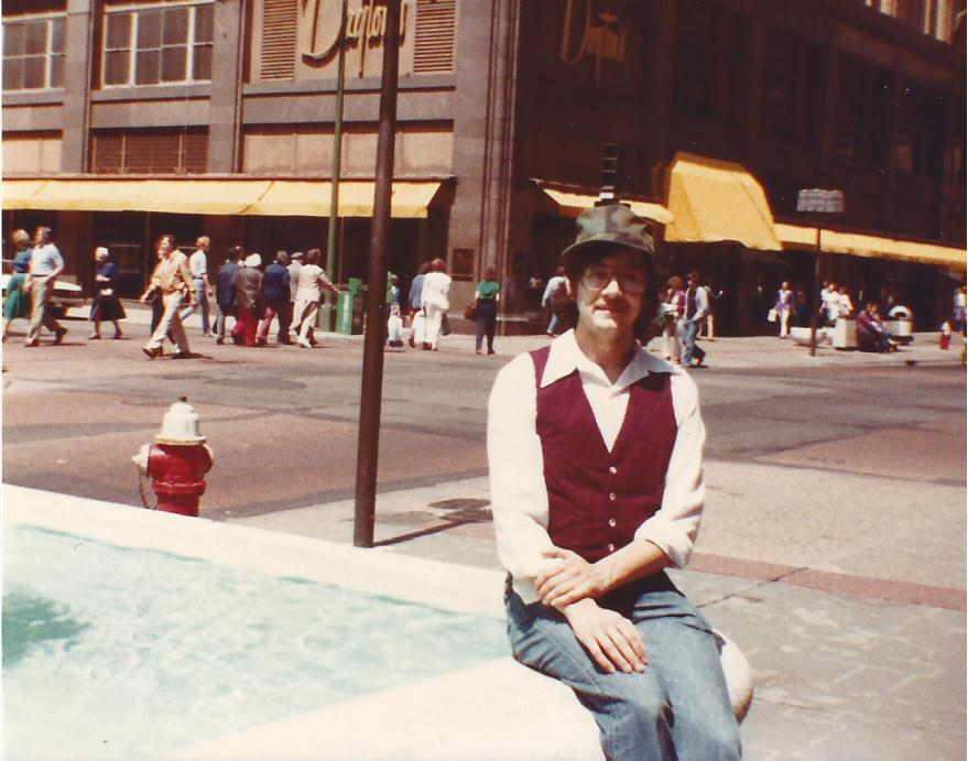 Alex Fountain Down Town MInneapolis 1983