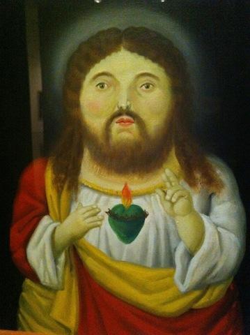 Botero.,Christ