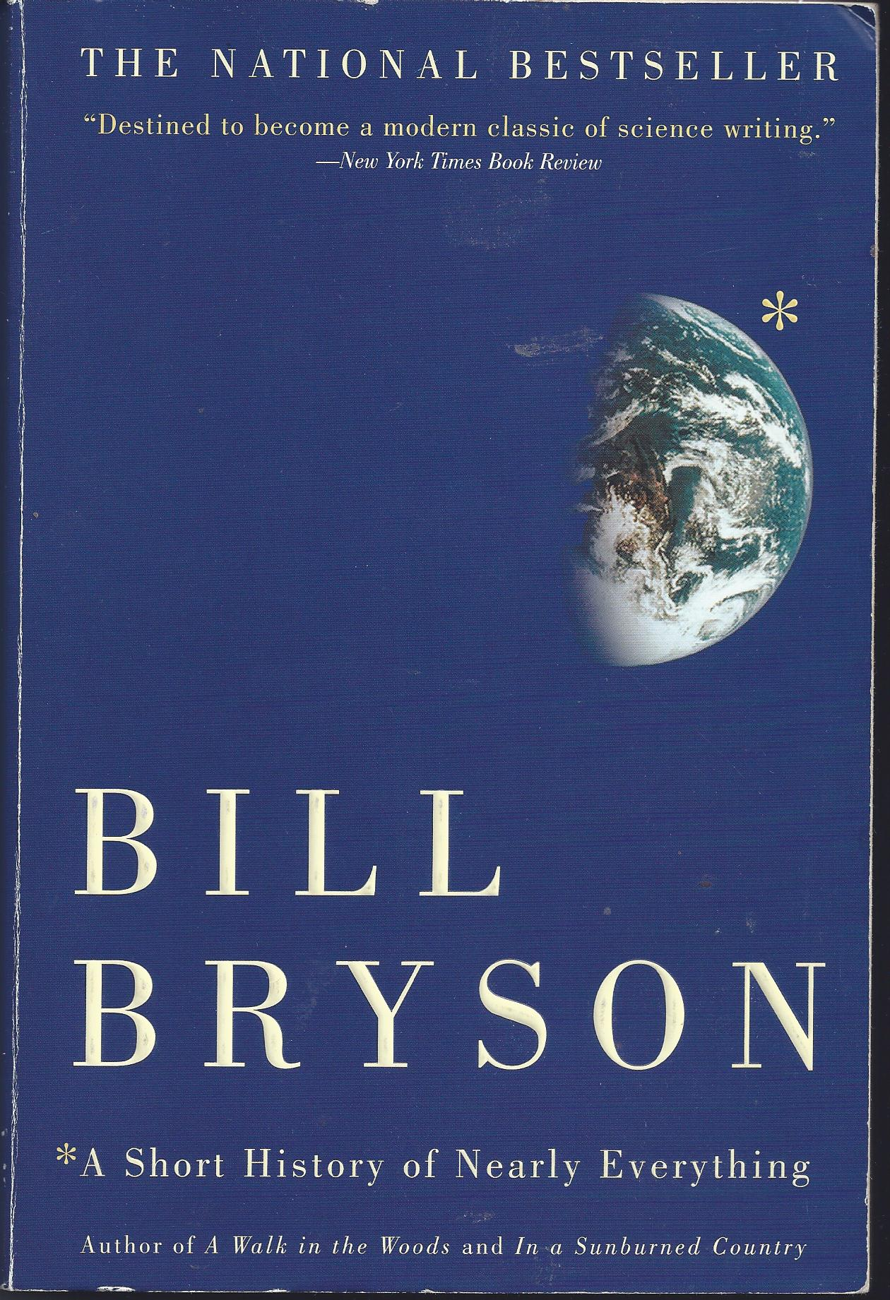 HIstory of Nearly Everything Bill Bryson