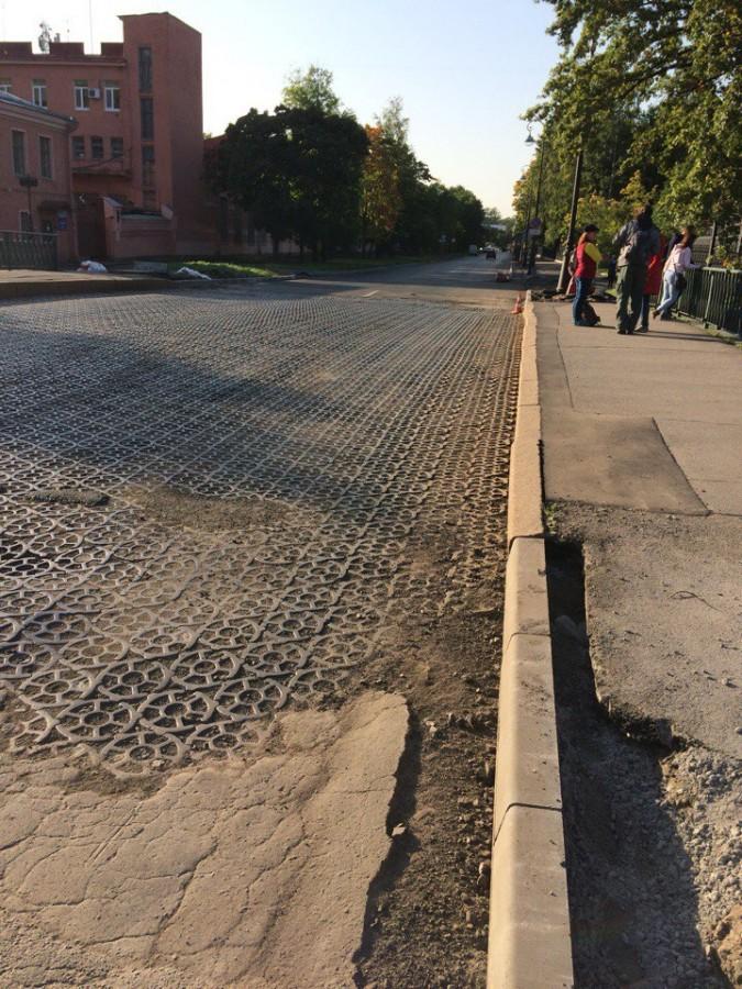 Зачем покрывали улицы железом?
