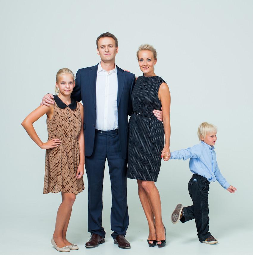 Семья Навального