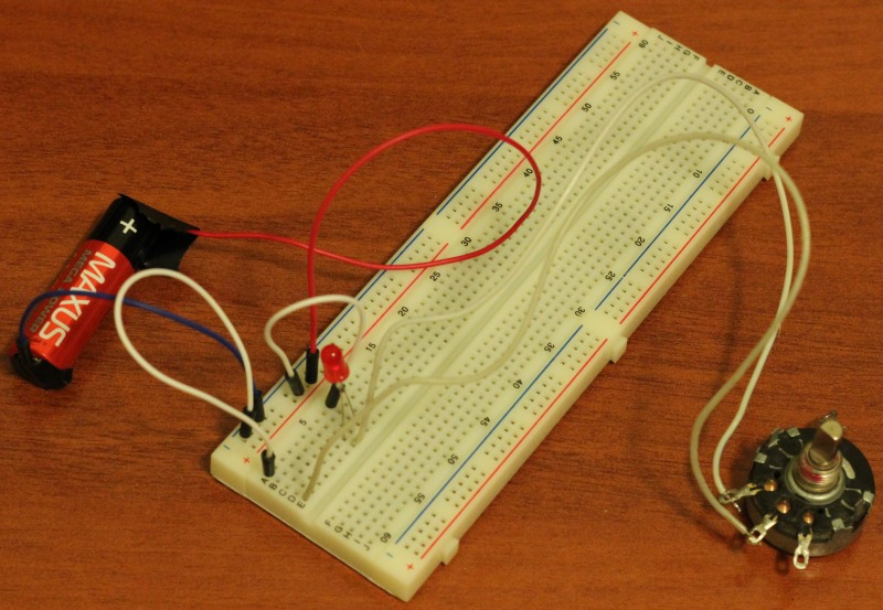Breadboard, warming up