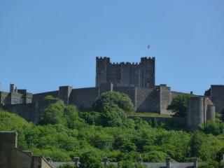 Дуврский замок: вид снизу