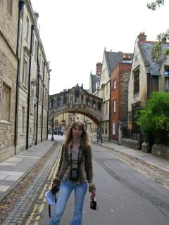 Мост Вздохов в Оксфорде