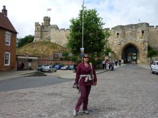 У стен Линкольнского замка