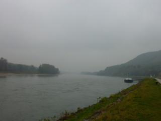 Дунай и туманные отроги Карпат