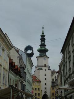 Ворота Св.Михаила - символ Братиславы