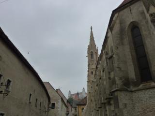 Снова вид на замок - из старого города
