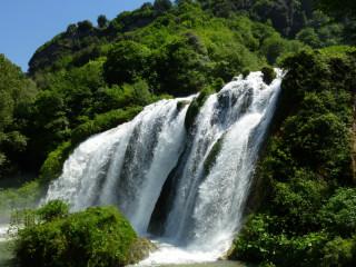 Центральная очередь водопада