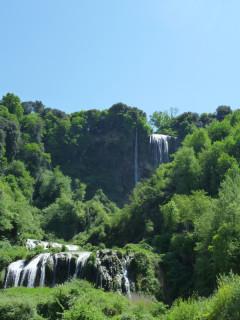 Выключенный водопад