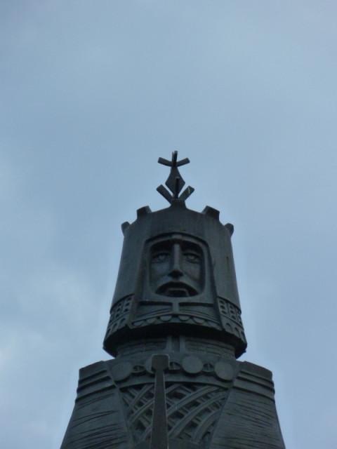 Памятник князю Витаутасу в Друскиненкае