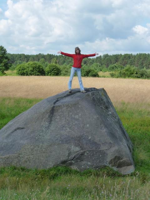 А в поле лежит Чертов Камень