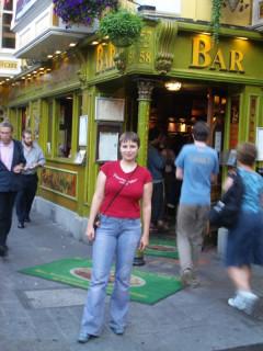 Вольта и наш паб в Temple Bar