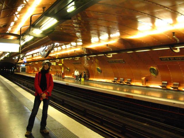 Станция метро Arts-et-Metiers