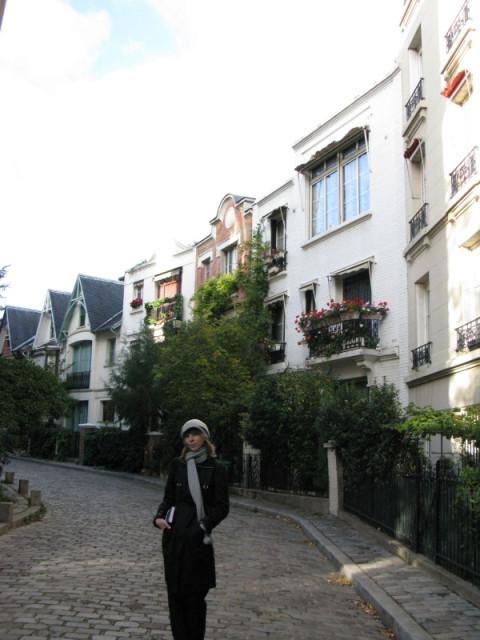 На монмартрских улочках